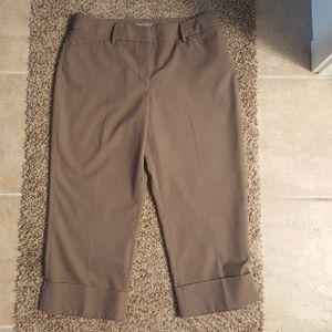 APT 9 Capri Maxwell streach dress pants